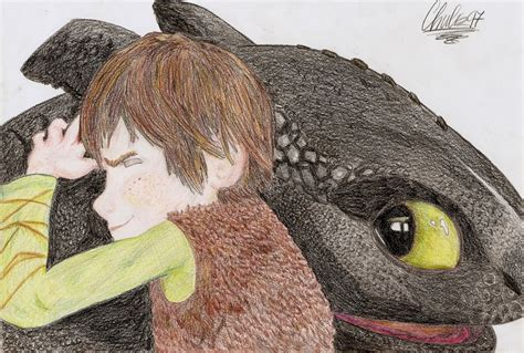 Hiccup And Toothless By Chuls97 On Deviantart