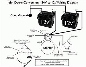 John Deere 24v To 12v Starter Conversion Kit Throughout
