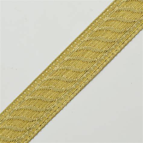 21mm Metallic Jacquard Ribbon Trim Joyce Trimming