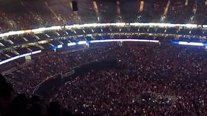 O2 Arena London - View from Block 420 Row L - YouTube