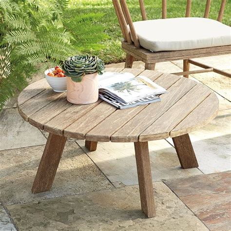 timeless outdoor coffee table