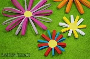 Blumen Basteln Kinder : bastelideen sommer ~ Frokenaadalensverden.com Haus und Dekorationen