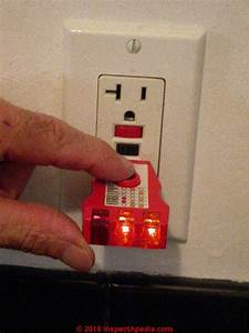 Ground Fault Circuit Interrupters  Gfci Test Procedure How
