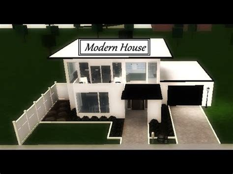 Roblox  Welcome To Bloxburg Modern House Youtube