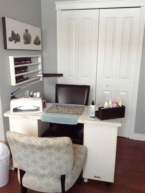 Decorating Ideas Salon Station by Best 25 Home Nail Salon Ideas On Pedicure