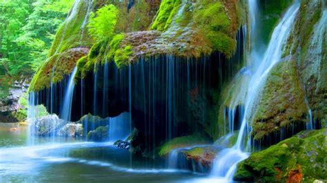 Bigar Cascade Falls Beautiful Waterfall In Caras Severin Romania Desktop Wallpaper Hd For Mobile