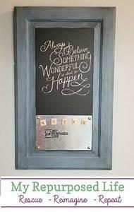 Cabinet, Door, Chalkboard