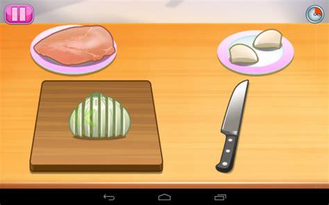 un jeux de cuisine ecole de cuisine de tablette android 83 100 test