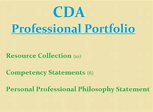 1000 images about cda professional portfolio on pinterest With cda portfolio template