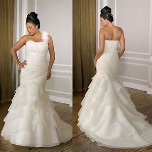 Plus size wedding dresses mermaid style prom dresses for Plus size wedding dresses mermaid style