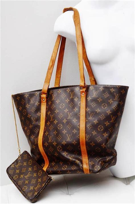 louis vuitton sac shopping monogramauthentic luxury tote