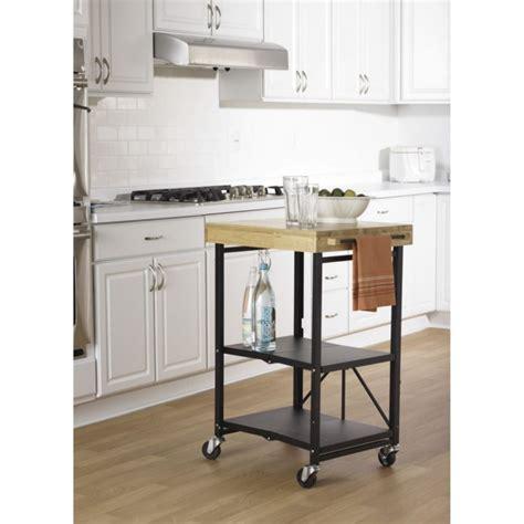 small butcher block kitchen island foldable kitchen cart sports folding carts origami small