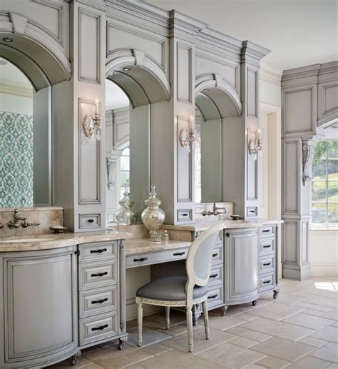 French Provincial Kitchen Ideas - westlake village french provincial traditional bathroom los angeles by model design inc