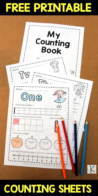 fall worksheets counting