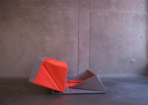 canap pliable origami sofa par yumi yoshida déco design