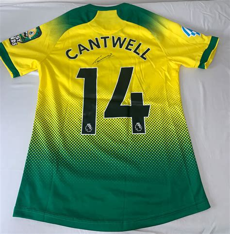 Norwich City Shirt Auction 2   Football Aid