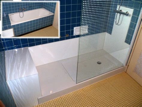 changer cuisine remplacement de baignoire par une cabine de