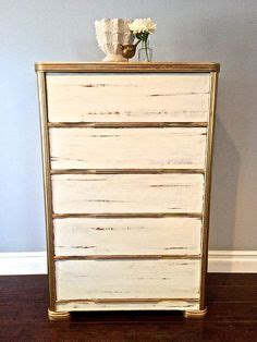 gold shabby chic furniture chalk paint in duck egg blue and old white on this small