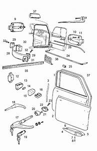 2009 Mini Clubman Driver Door Latch Repair Diagram