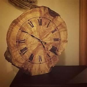 Clock, Wood