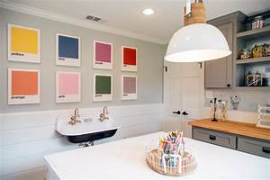 wall art ideas from chip and joanna gaines hgtv39s fixer With what kind of paint to use on kitchen cabinets for playroom wall art ideas