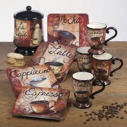 coffee kitchen decor ideas these dishes cocoa coffee