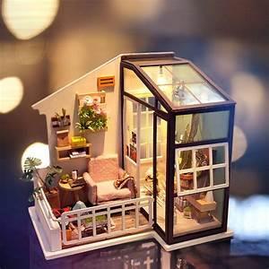 Diy, Miniature, Model, Kit, -, Balcony