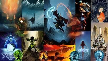 Avatar Airbender Last Wallpapers Aang Atla Anime