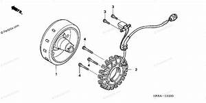 Honda Atv 2007 Oem Parts Diagram For Alternator
