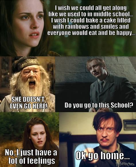 Twilight Funny Memes - the remixing of mean girls a phenomenon