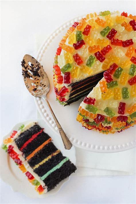 gummy bear layer cake recipe eat  books