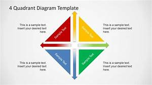 4 Quadrants Diagram Template For Powerpoint