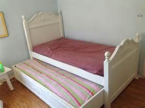 kitchener furniture cafe kid white trundle bed saanich