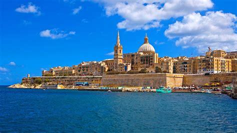 malta architecture summer sea pier valletta house hd wallpaper