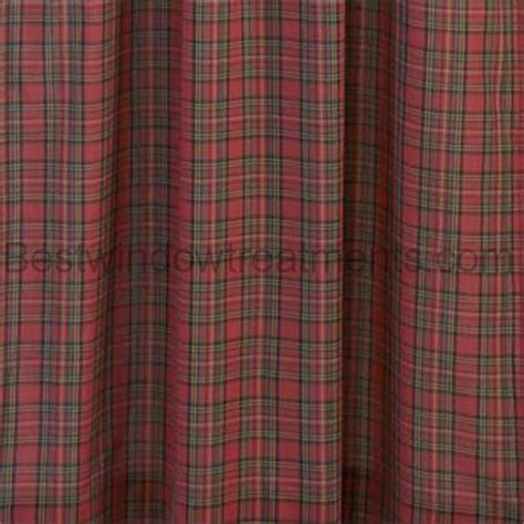 traditional tartan plaid curtains bestwindowtreatmentscom