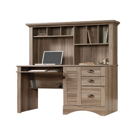 Sauder Harbor View Computer Desk With Hutch Reviews