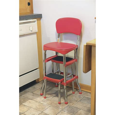chair with step stool retro step stool with chair northern tool equipment