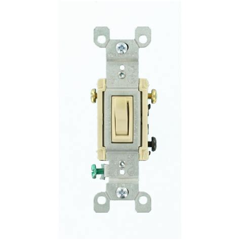 leviton 15 3 way toggle switch ivory r57 01453 02i the home depot