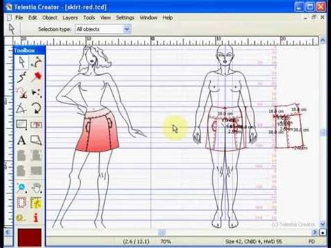 cad fashion design software youtube