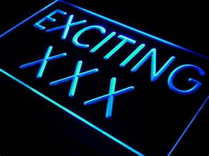 j439 Exciting XXX DVD VCD Movies Bar LED Neon Light Sign