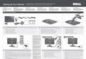 Dell U2410 Monitor Diagrama De Configuraci U00f3n User Manual