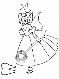 Free the real tooth fairies coloring pages