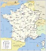 Political Map of France - Nations Online Project
