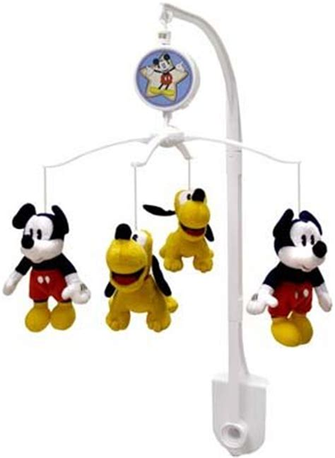 disney mickey mouse shine baby musical mobile new