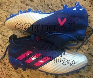 2017 Adidas Soccer Cleats Blue Ace