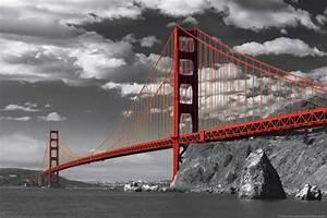 San Francisco Bilder : san francisco golden gate bridge colourlight ~ Kayakingforconservation.com Haus und Dekorationen