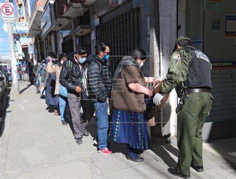 bolivias covid  aid payment prompts elderly  form