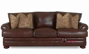 montezuma leather sofa by klaussner is fully customizable With klaussner leather sectional sofa
