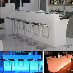 Beleuchtete Bar Theke : jumbo bar beleuchtet beleuchteter thresen bei homeform ~ Sanjose-hotels-ca.com Haus und Dekorationen