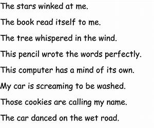 Examples Of Personification Poems | www.pixshark.com ...
